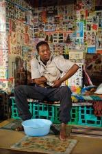 Terry Yeboah in Boxman by Daniel Keene (Photo by Derykl McAlpin)