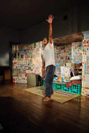 Terry Yeboah in Boxman by Daniel Keene