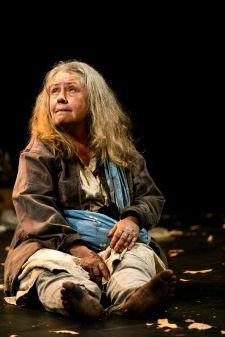 Noni Hazlehurst as Christie in Daniel Keene's MOTHER Belvoir Street Theatre January 2018